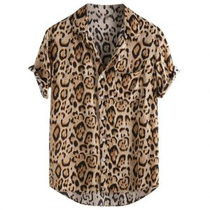 camisa estampado animal