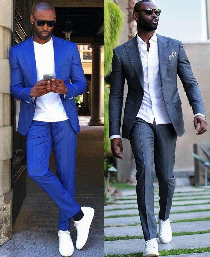 traje con zapatillas 1