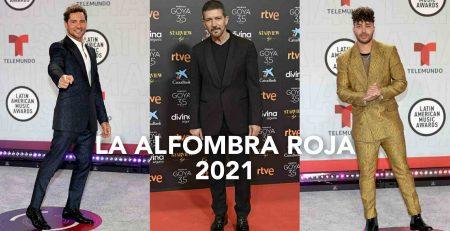 La alfombra roja 2021 foto